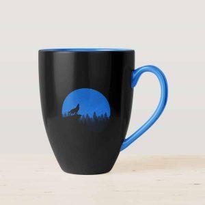 White Printed Coffee Mug